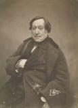 Nadar - Gaspard Felix Tournachon -gioacchino-rossini-1856
