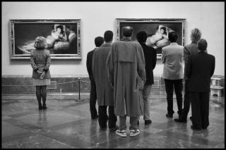 SPAIN. Madrid. 1995. Prado Museum.Elliott Erwitt