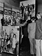 Vista de la exposición original. 1955