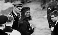 USA. Arlington, Virginia. November 25th, 1963. Jacqueline KENNEDY at John F. Kennedy's Funeral. Elliott Erwitt