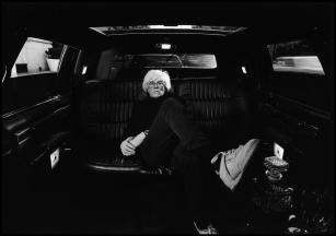 USA. New York City. 1986. American artist Andy WARHOL.Elliott Erwitt