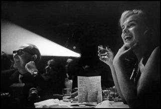 USA. Reno, Nevada. 1960. American actress Marilyn MONROE during the filming of %22The Misfits%22, directed by John Elliott Erwitt