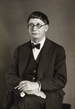 The Architect [Hans Poelzig] 1929 by August Sander 1876-1964