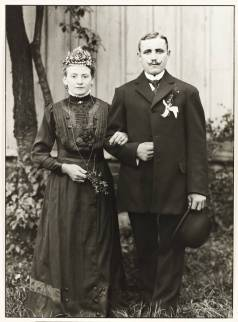 Engaged Farming Couple 1911, printed 1990 by August Sander 1876-1964