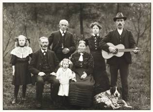 Farming Family 1912 by August Sander 1876-1964