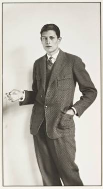 Grammar School Boy 1926 by August Sander 1876-1964