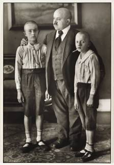 Widower 1914 by August Sander 1876-1964