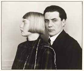 The Architect Hans Heinz Luttgen and his Wife Dora 1926, printed 1990 by August Sander 1876-1964