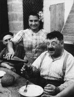 Vigneron en gironde, 1945