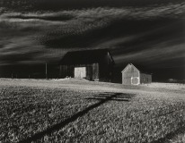 Two Barns and Shadow, 1955