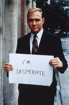 'I'm desperate' 1992-3 by Gillian Wearing OBE born 1963