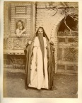 "Unidentified photographer, ""Coptic woman"", Egypt, 260x200mm, C1870s"
