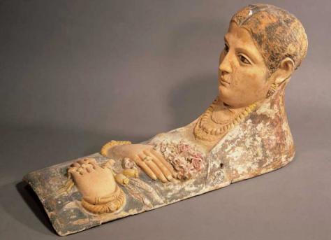 Retrato funerario, 190-220 a.C.