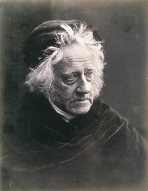 Sir John Herscshel. Julia Margaret Cameron