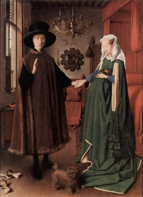 El matrimonio Arnolfini. Jan Van Eyck. 1434