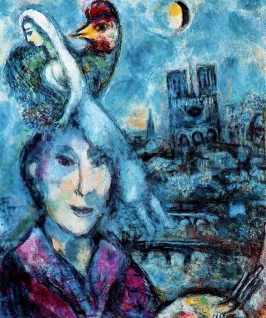 Autorretrato. Marc Chagall. 1959
