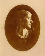 Julia Margaret Cameron. Mrs. Herbert Duckworth. (Retrato, 1867)