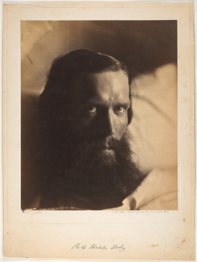 Julia Margaret Cameron. Philip Santhope Worsley (Retrato, 1866)