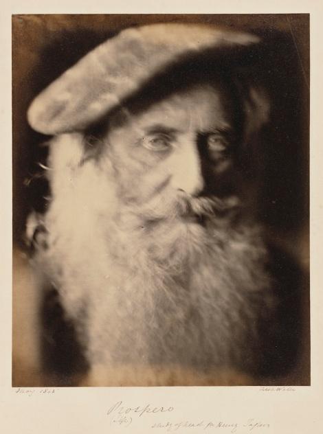 "Julia Margaret Cameron. ""Prospero"" (1865)"