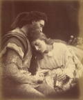 "Julia Margaret Cameron. ""Parting of Sir Lancelot and Queen Guinevere"" (1874)"