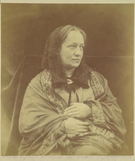 Henry Herschel Hay Cameron. Julia Margaret Cameron (Retrato, 1870)