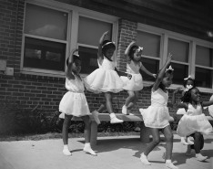 Anacostia, D.C. Frederick Douglass housing project. A dance group 1942.