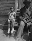 Washington, D.C. Grandfather and grandchild who live on Seaton Road. 1942