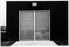 Lewis Baltz. East Wall, McGaw Laboratories, 1821 Langley, Costa Mesa (1974)