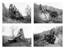 Bernd & Hilla Becher. Pit head, Bear Valley, Pennsylvania (1974)