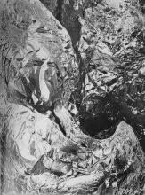 Tina Modotti. Papel de aluminio arrugado (ca. 1926)