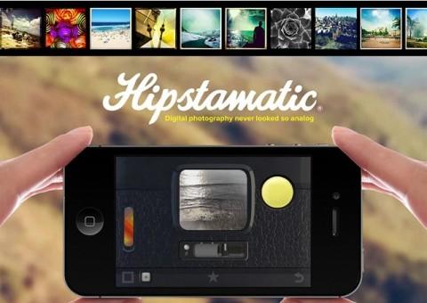 Hipstamatic, una de las aplicaciones que permite agregar filtros a las fotos hechas con un dispositivo móvil.