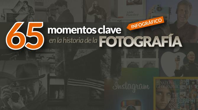 65 momentos clave en la historia de la fotografía