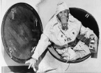 Kennith-Gelpey-wears-protective-clothing-as-he-emerges-from-a-fallout-shelter-in-Medford-Massachusetts-on-October-23-1961-with-a-geiger-counter-in-hand-to-test-for-radiation.-Gelpey-and-