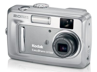 Kodak CX7220. En 2004 el mercado del consumidor era dominado por Kodak.