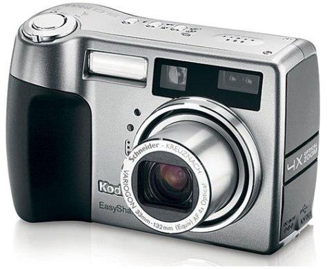 Kodak D7440. Una cámara que recibió muchos elogios en 2004