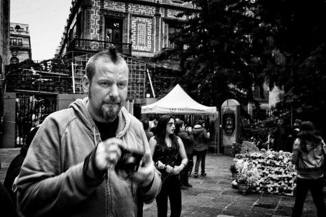 Markus Hartel en la Ciudad de México