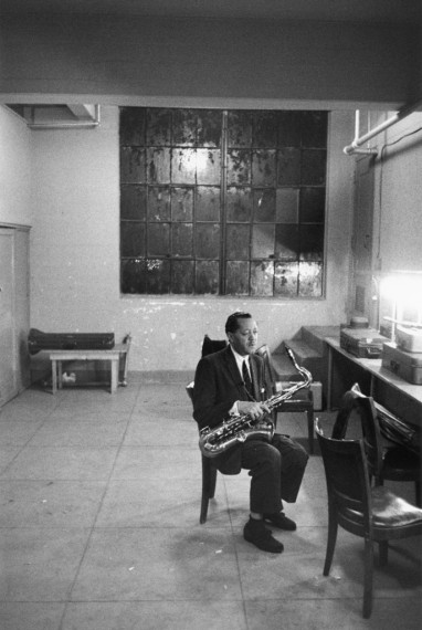 Lester Young, 1956