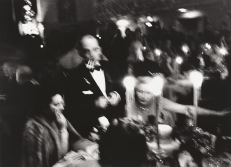 William Klein. Elsa Maxwell's Toy Ball at the Waldorf, New York (1955)