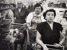 WilliamKlein_17_Four Women,Supermarket,NY,1955