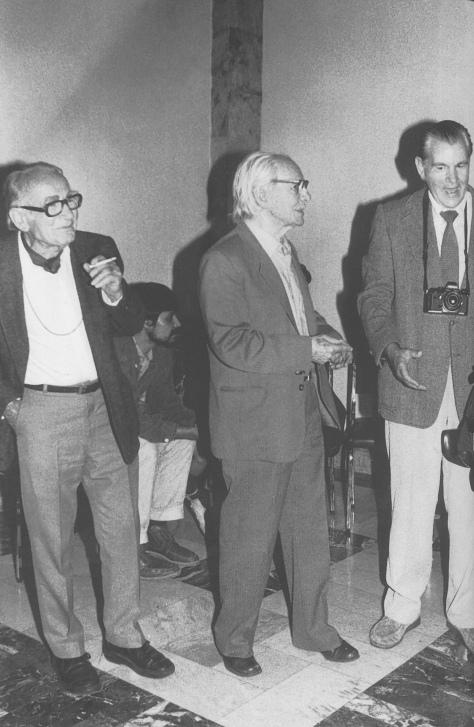 Ángeles Torrejón. Walter Reuter, Manuel Álvarez Bravo y Héctor García en Bellas Artes (Ciudad de México, 1989)