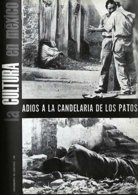 Héctor García. Candelaria de los Patos, México D.F. 1965. Portada del suplemento La Cultura en México de la revista