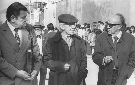 Archivo Héctor y María García. Héctor García, Manuel Álvarez Bravo y Gabriel Figueroa (sin fecha)