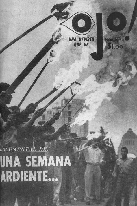 Hector García. Portada de la revista