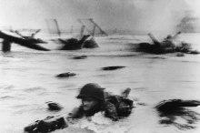 """Robert Capa Segunda Guerra Mundial. Desembarco en Normandía (Día """"D"""")"""