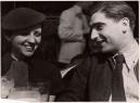 Robert Capa con Gerda Taro