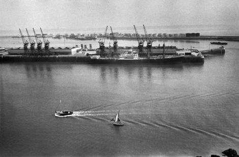 Haute-Normandie. Seine-Maritime. Le Havre. 1955.