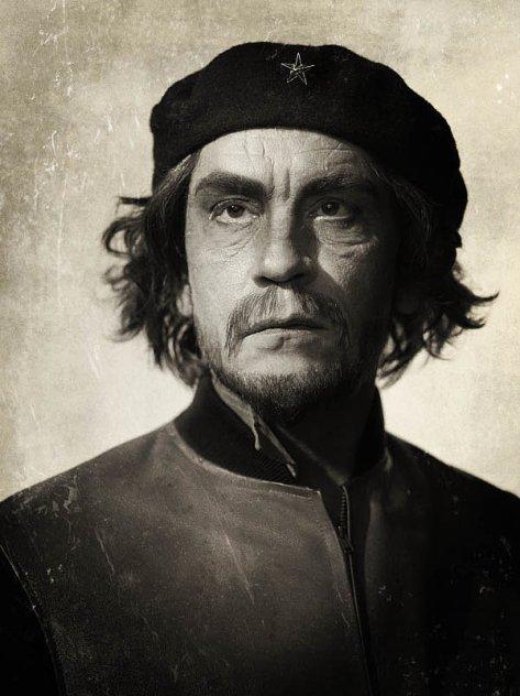 John Malkovich como el Che en el homenaje de Sandro Miller