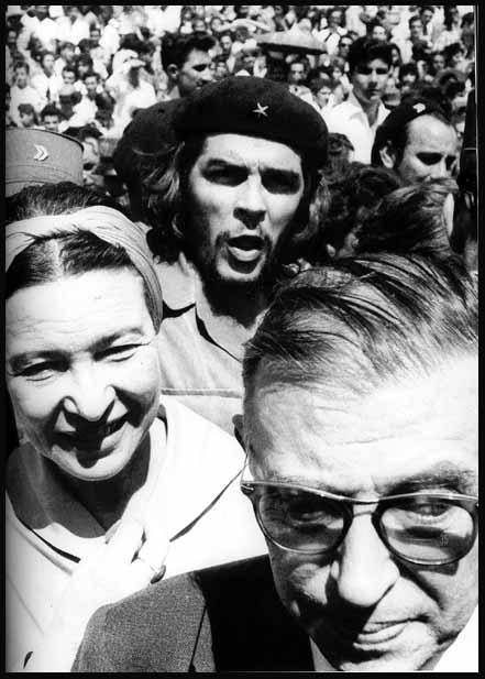 Otra de las fotografías del Che, hechas por Korda el mismo día del homenaje a las víctimas de La Coubre.