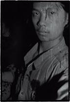 RongRong Self-portrait, East Village, Beijing 1994 1994