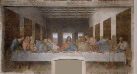 Leonardo Da Vinci. Il Cenacolo.